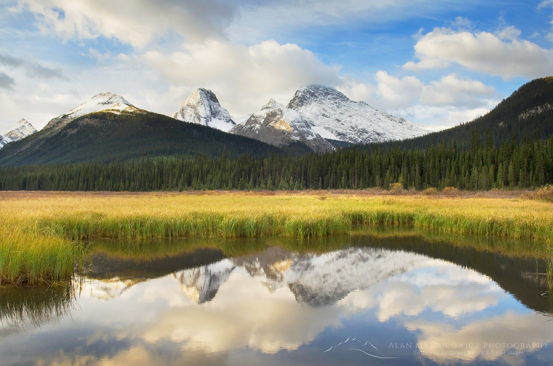 Kananaskis Country, Alberta Canadian Rockies Fall Photography