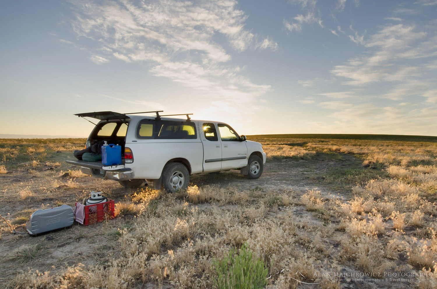 Car camping in SW Idaho