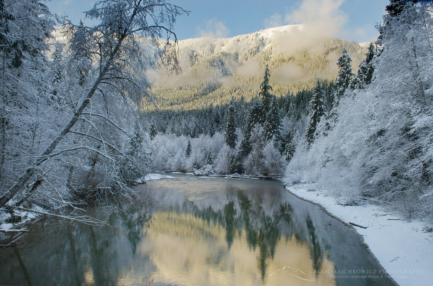 Nooksack River North Cascades Washington