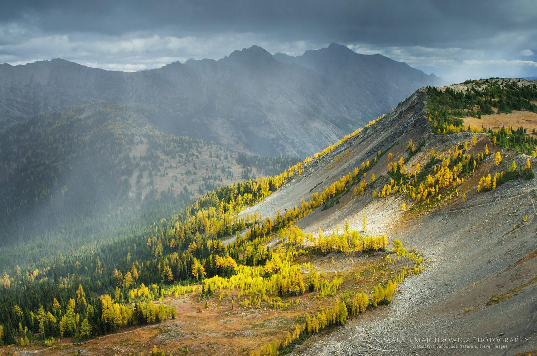 Pasayten Wilderness in fall, North Cascades