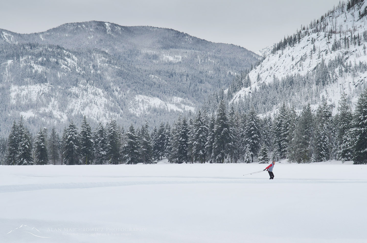 Cross country skiing Methow Valley  North Cascades