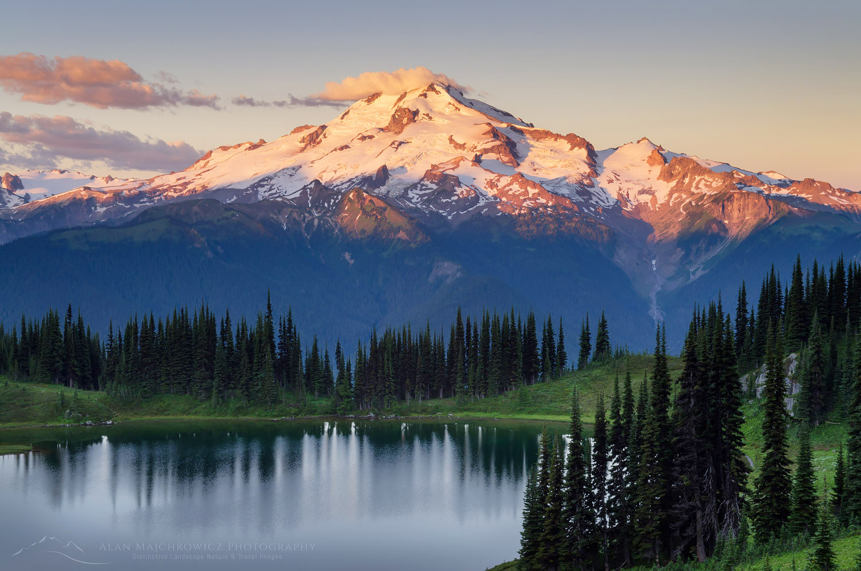 Image Lake Glacier Peak North Cascades