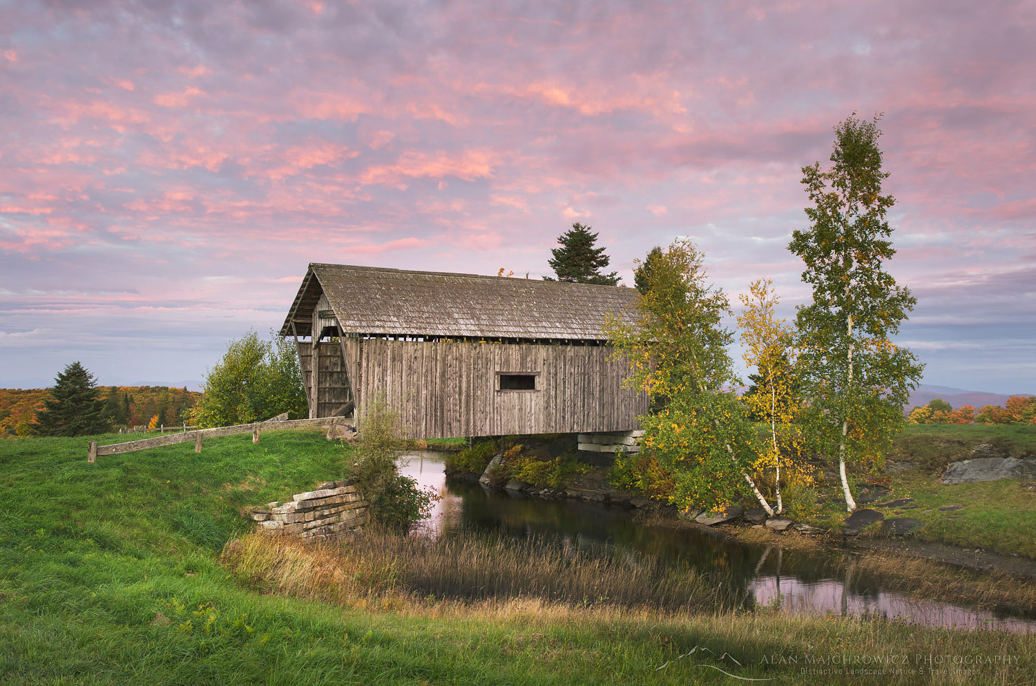 Foster Covered Bridge, Cabot Vermont