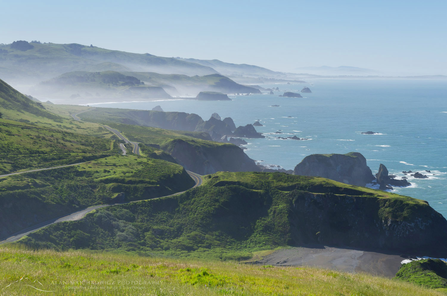 California Highway 1 Sonoma Coast