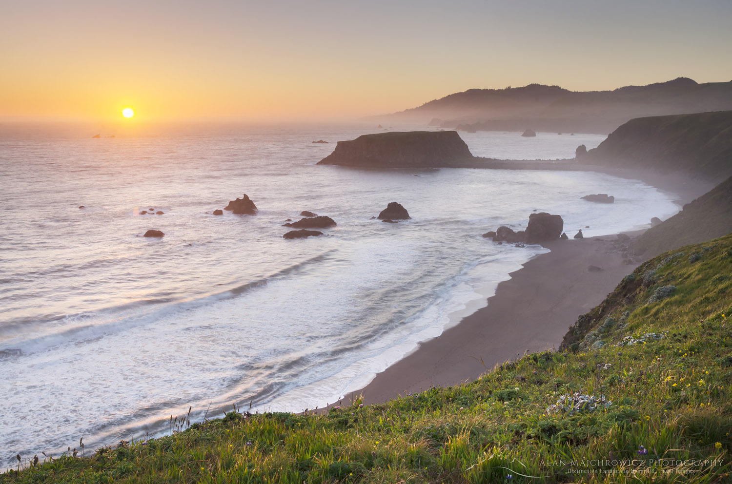 Sonoma Coast sunset California