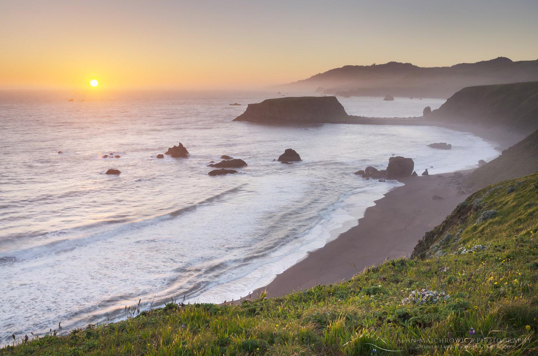 Sonoma Coast sunset California