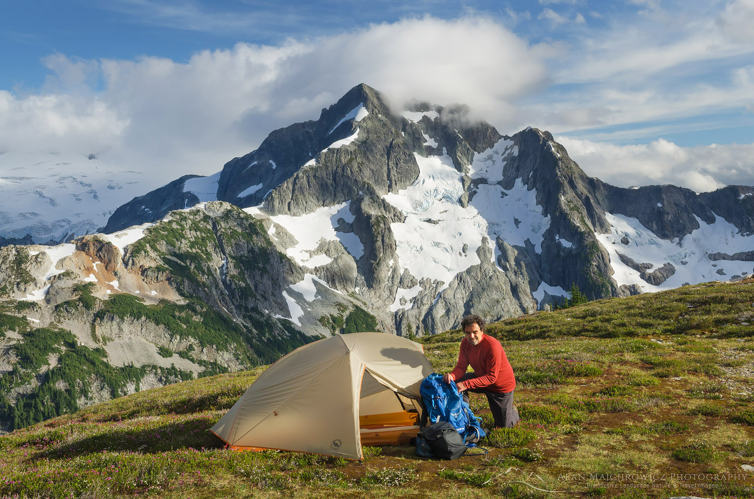 Backcountry Camp North Cascades National Park