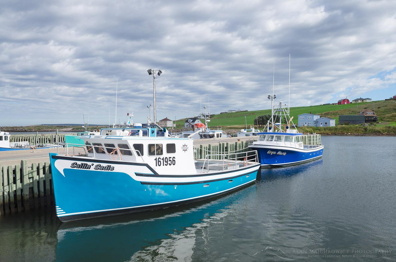 Fishing boats, Cape Breton Island