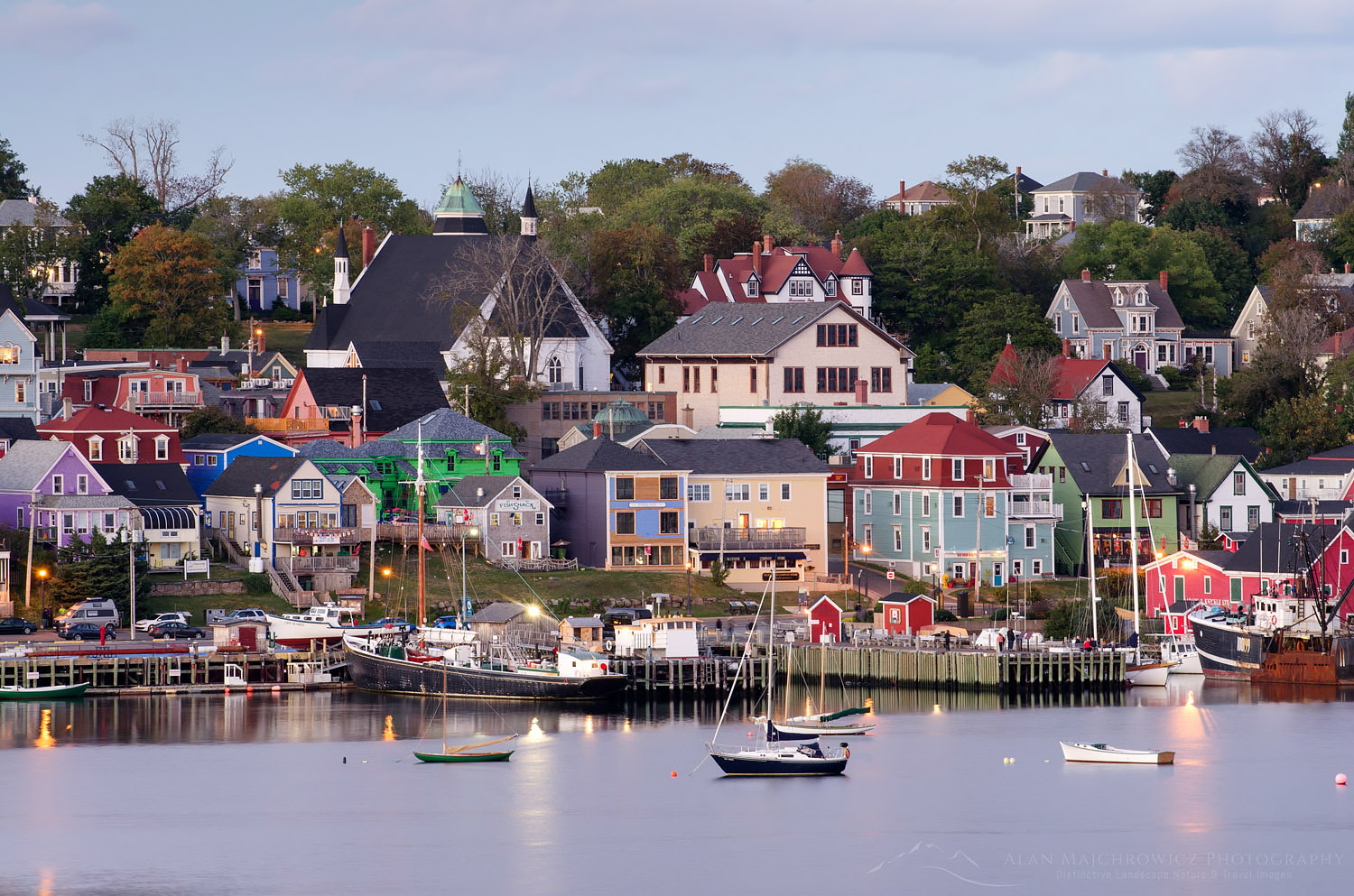 Lunenburg Nova Scotia Bluenose Coast