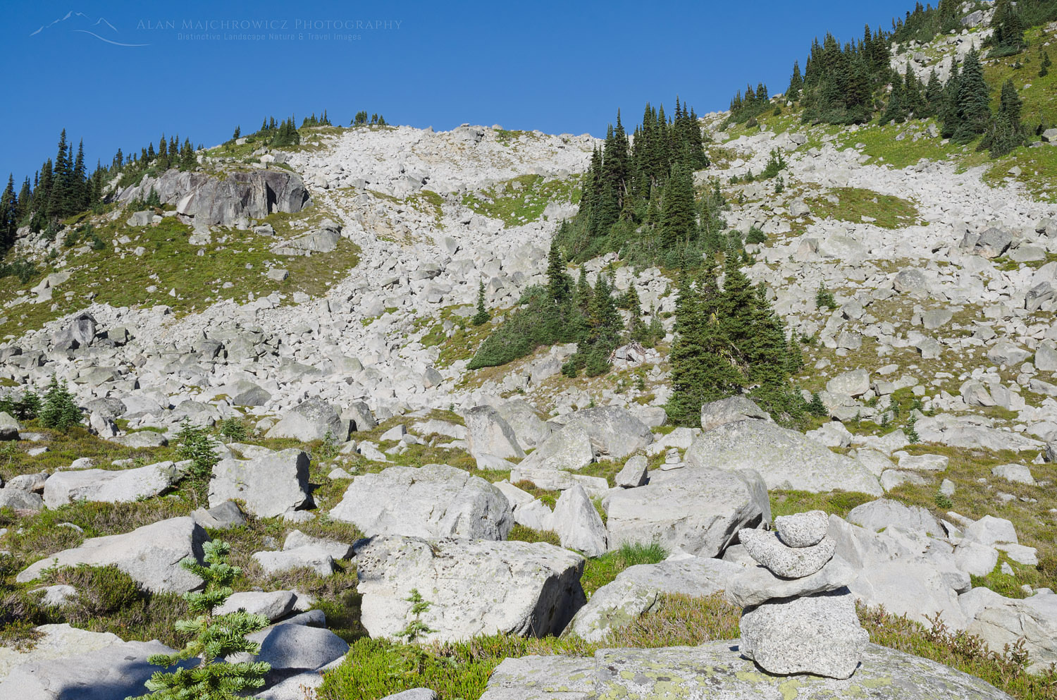 Boulders Marriott Basin Coast Mountains British Columbia