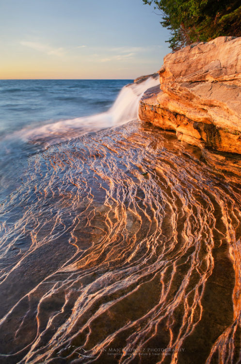 Elliot Falls Pictured Rocks Michigan Photo Highlights 2018