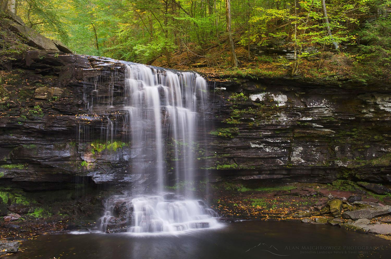 Harrison Wright Falls, Ricketts Glen State Park, Pennsylvania