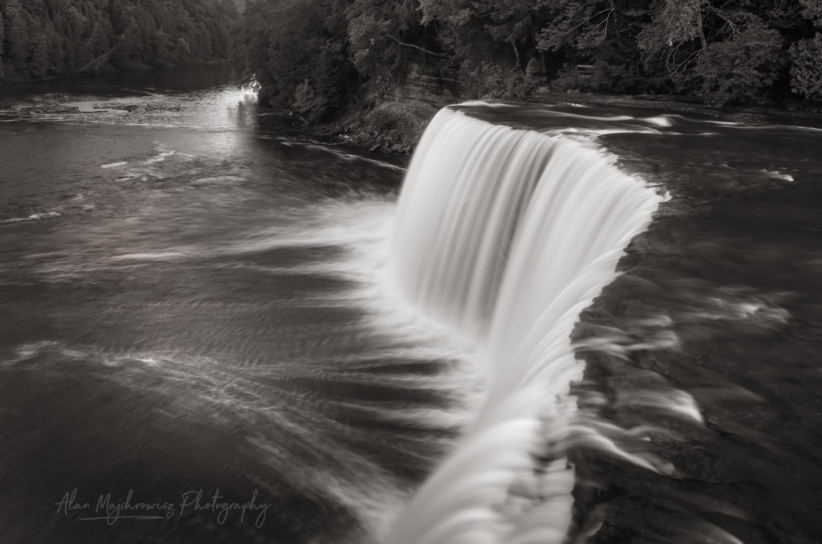 Upper Tahquamenon Falls Michigan BW Photo Highlights 2018
