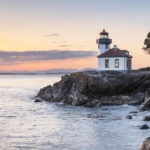 Lime Kiln Lighthouse San Juan Island Washington