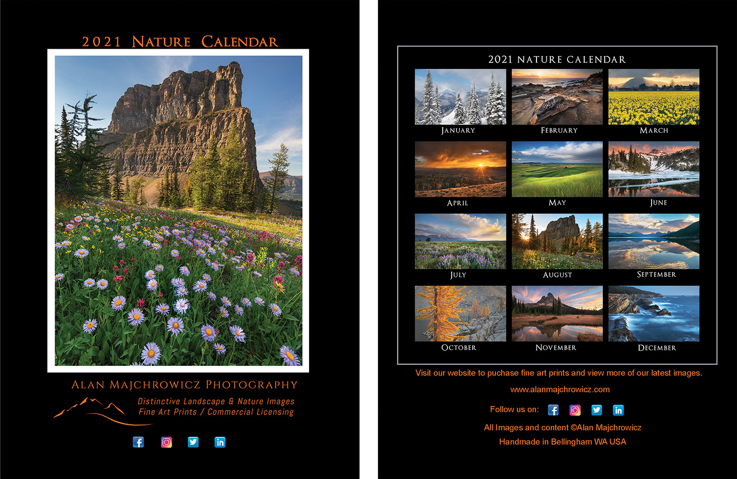 2021 Desktop Nature Calendar