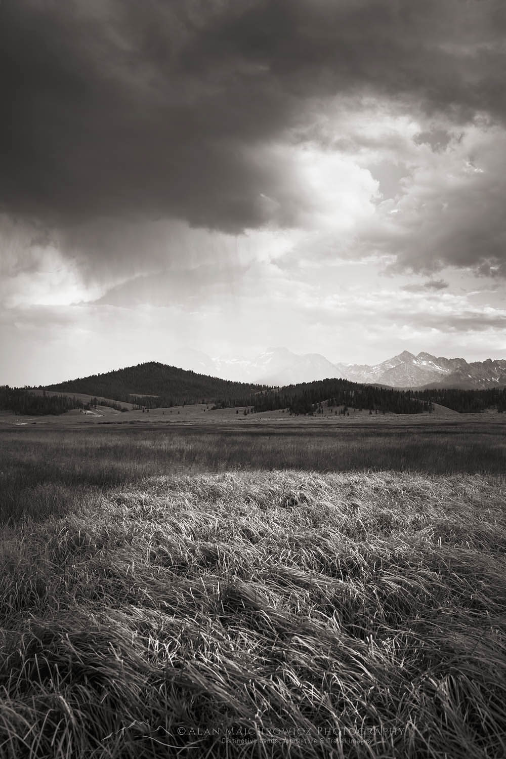 Sawtooth Mountains Storm