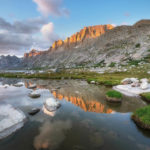 Titcomb Basin, Bridger Wilderness, Wind River Range Wyoming