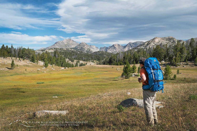 Backpacker, Wind River Range, Wyoming