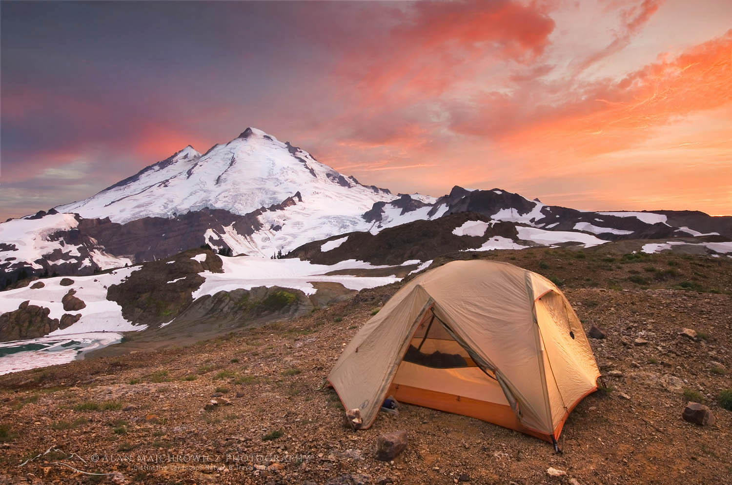 Mount Baker Wilderness Campsite