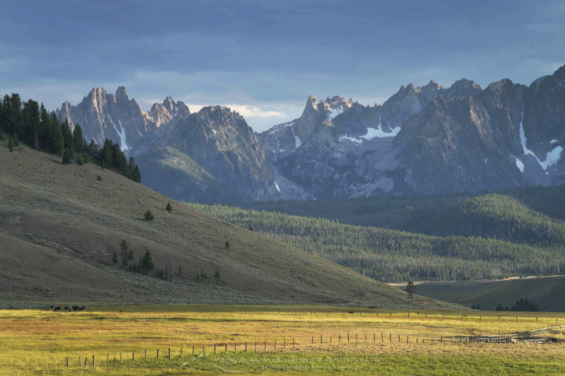 Stanley Basin Sawtooth Mountains Idaho