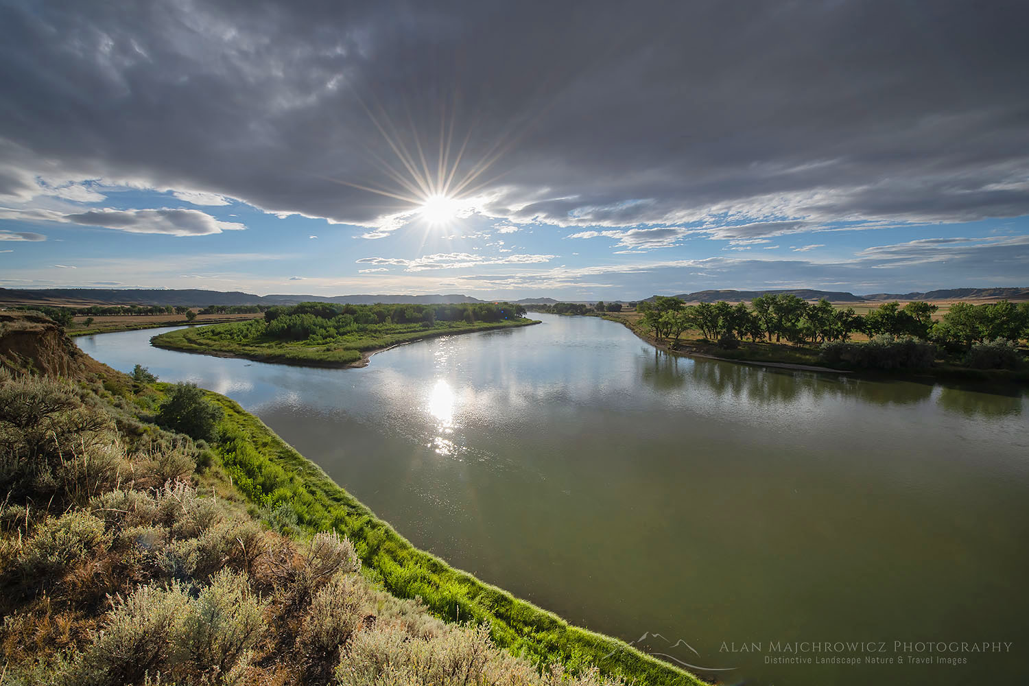 Missouri River Breaks near Judith Landing, Montana