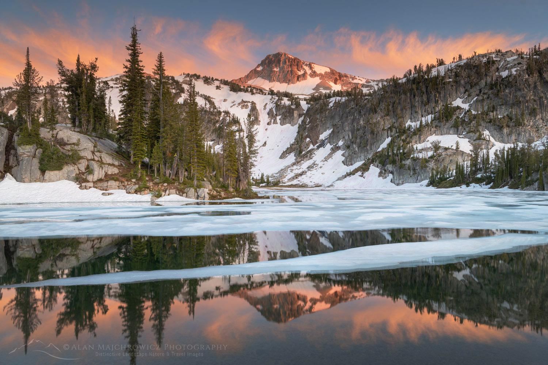 Eagle Cap and Mirror Lake Eagle Cap Wilderness Oregon