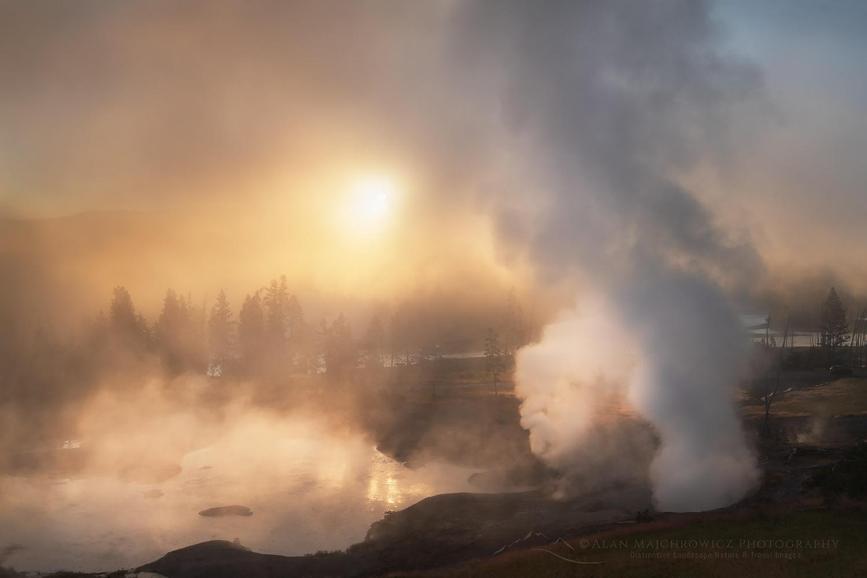 Mud Volcano Yellowstone National Park