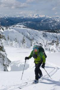 Ski Touring Manning Provincial Park British Columbia