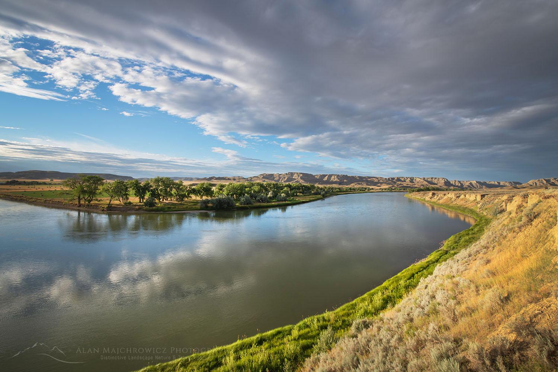 Missouri River Breaks near Judith Landing, Montana