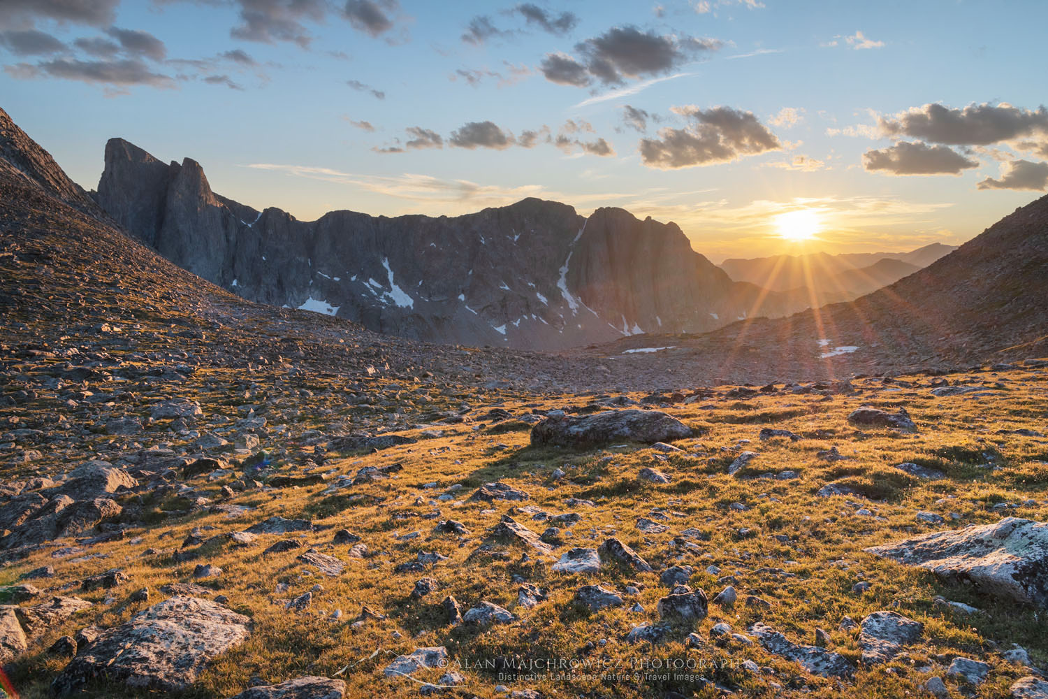 Wind River Range sunset