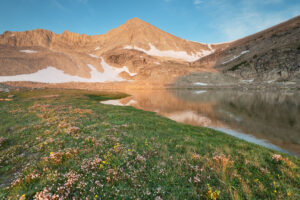 Cirque Lake, David O. Lee Peak, Cecil D. Andrus-White Clouds Wilderness Idaho