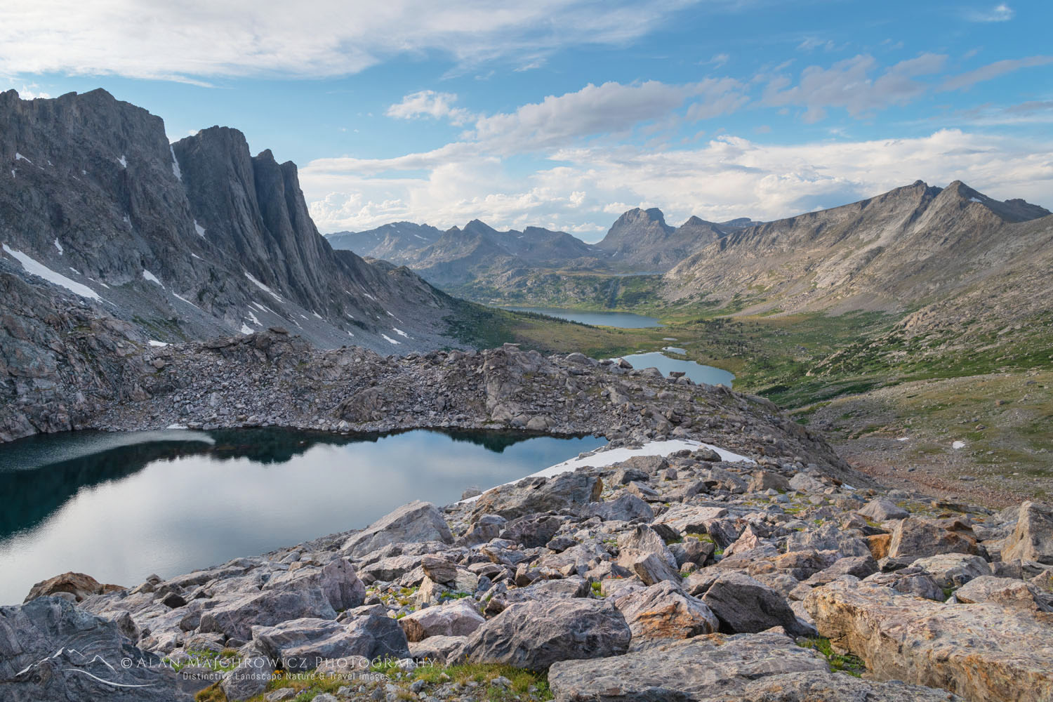 Lake Donna Bridger Wilderness, Wind River Range Wyoming