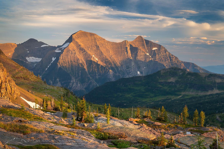 Rainbow Peak Glacier National Park