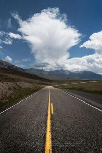U.S. Highway 93 Lost River Range Idaho