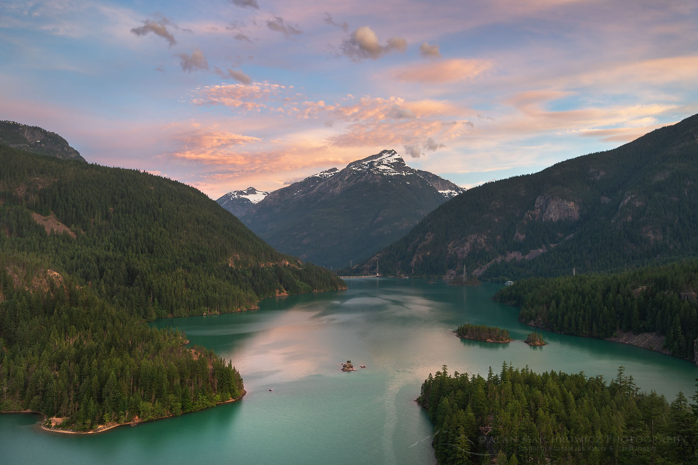 Diablo Lake, North Cascades Washington